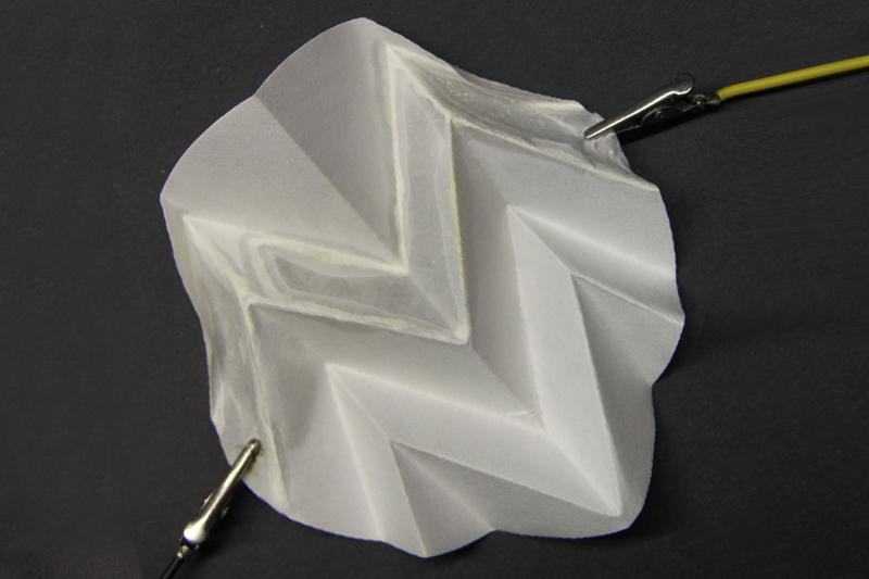 whiteprintonfoldedpaper
